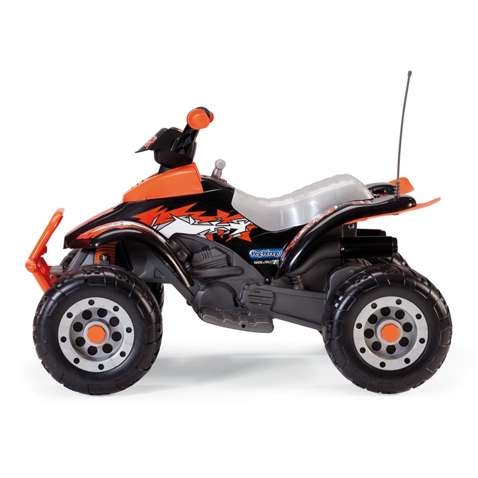 Corral T-Rex Black/Orange 12 V Akülü Araba