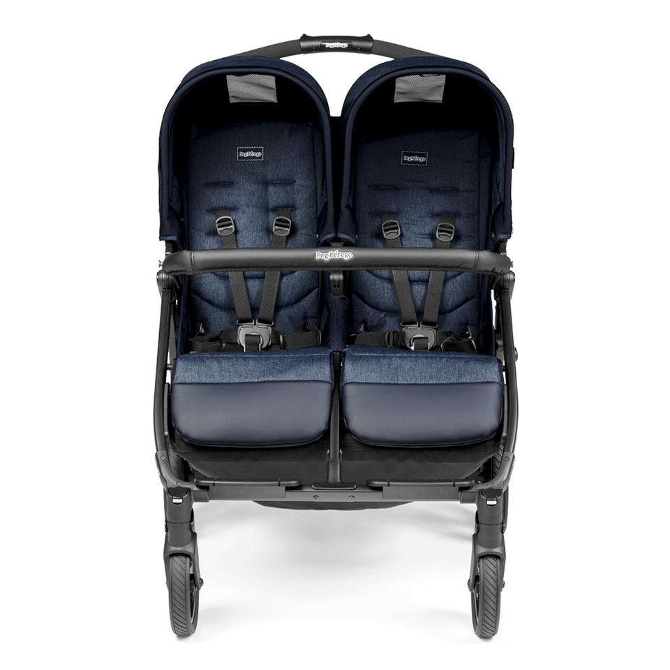 Book For Two Classico İkiz Bebek Arabası - Mod Navy